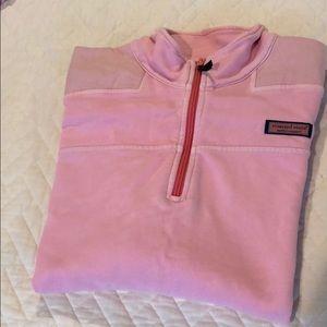 Vineyard Vines women's shoe shirt pink L